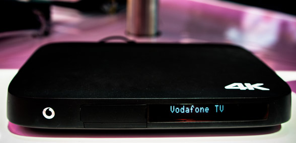 4K IPTV-Receiver Vodafone (TV Center 2000)