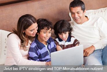 Jetzt zu IPTV umsteigen