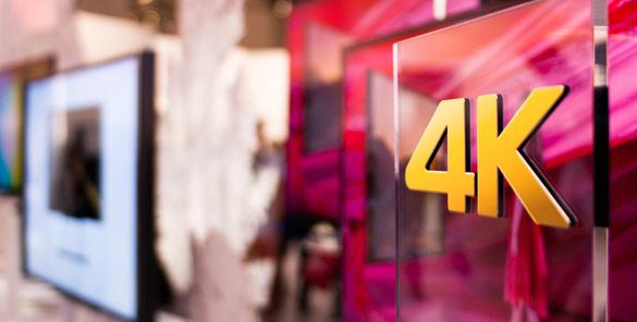 4K Fernseher werden mehr nachgefragt