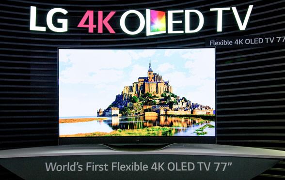4K OLED TV von LG