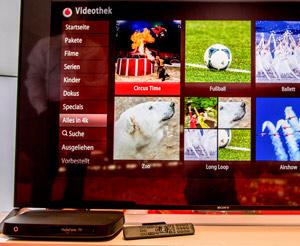 Vodafone: Video on Demand in 4K