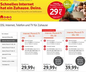 Vodafone TV in neuen Varianten