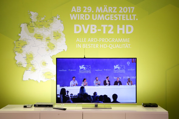 DVBT2 Start im März 2017