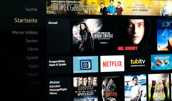Amazon TV Screenshot