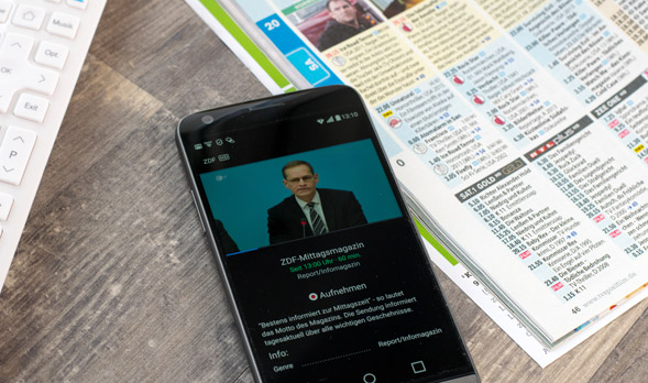 Waipu TV am Smartphone