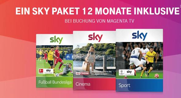 Telekom Sky Aktion