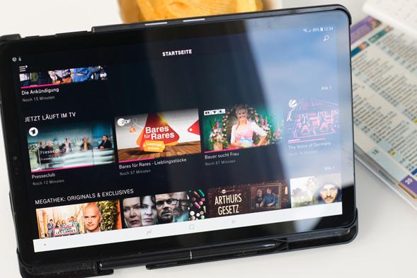 TV legal am Tablet streamen