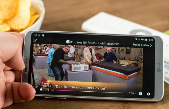 IPTV über App nutzen
